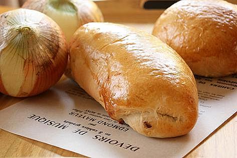 玉ねぎパン♪