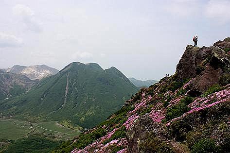 三俣山も綺麗に見えた♪