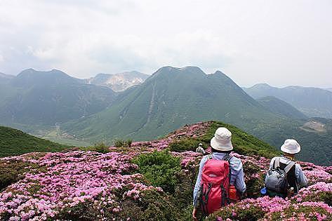 九重連山を眺めながら♪