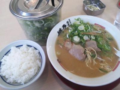 ラーメン横綱鳳店ランチAセットラーメン630円白ごはん中60円