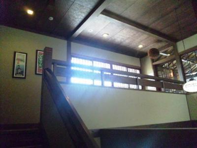 20130426佛蘭西屋店内階段
