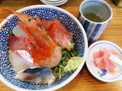 20130501海鮮丼駅前元町店海鮮丼480円