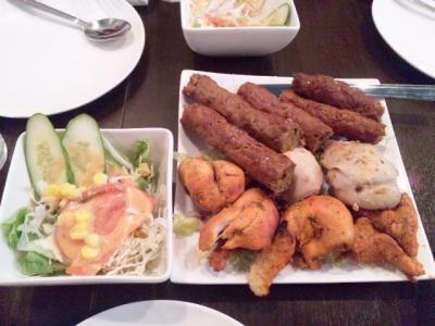130609大阪ハラールレストランタンドリー料理
