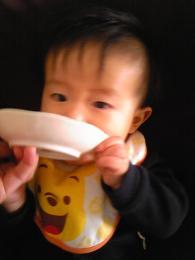 離乳食一日目
