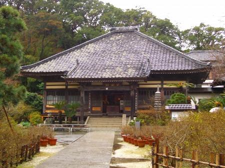 雨の了仙寺