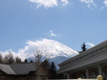 富士山が見えた~