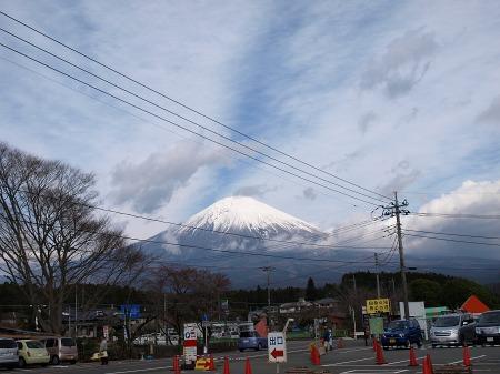 ばっちり富士山!