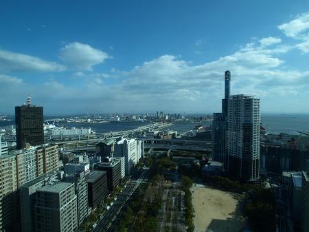 神戸市役所からの眺め♪