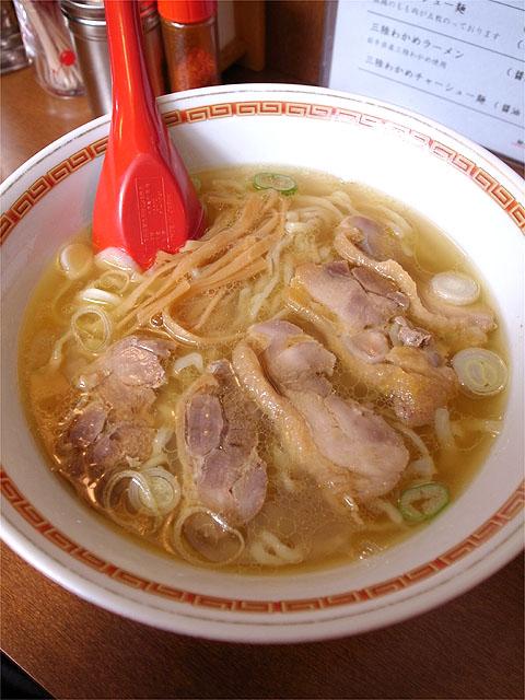 130309嘉一-鶏チャーシュー麺醤油