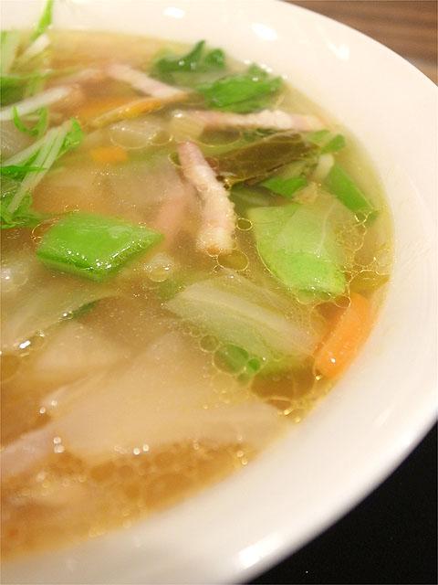 130331麺屋さくら-春野菜のミネストローネのスープヌードル具
