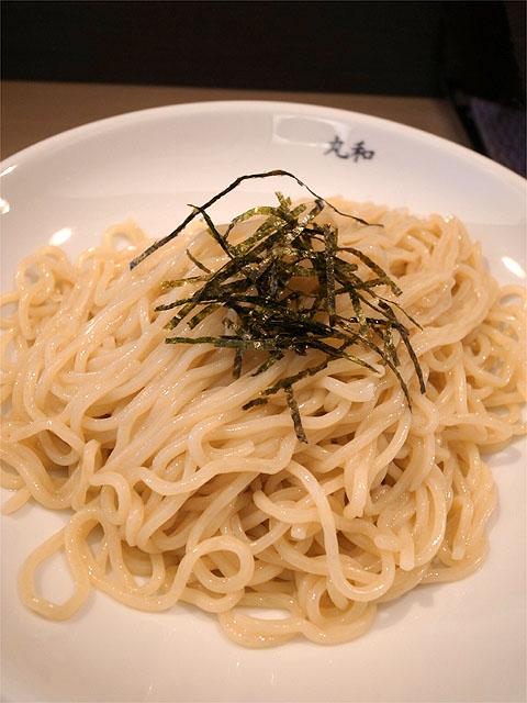 130720丸和各務原-嘉六カレーつけ麺・麺