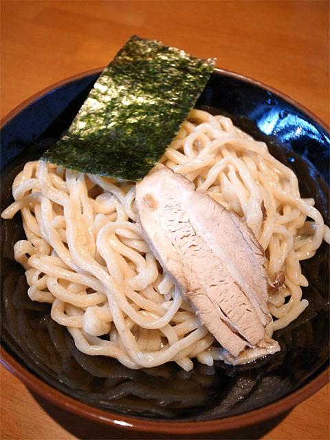 130731仁麺魚-豚ほぐしつけ麺・麺