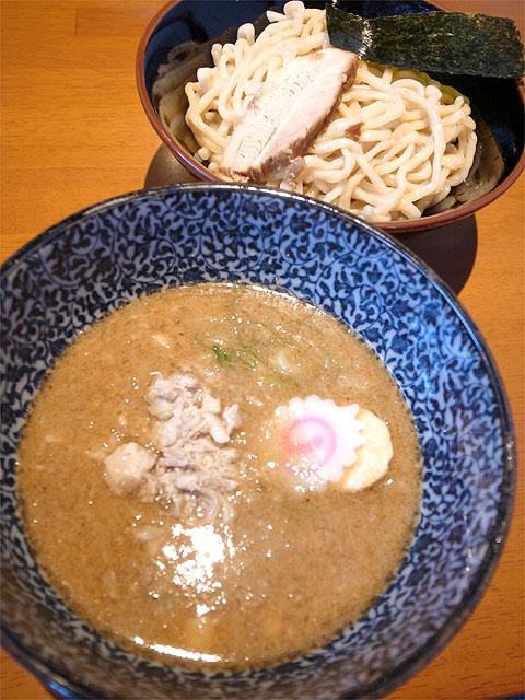 130731仁麺魚-豚ほぐしつけ麺