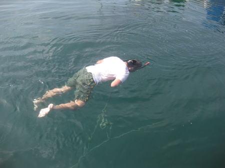 拓ボン寒中水泳