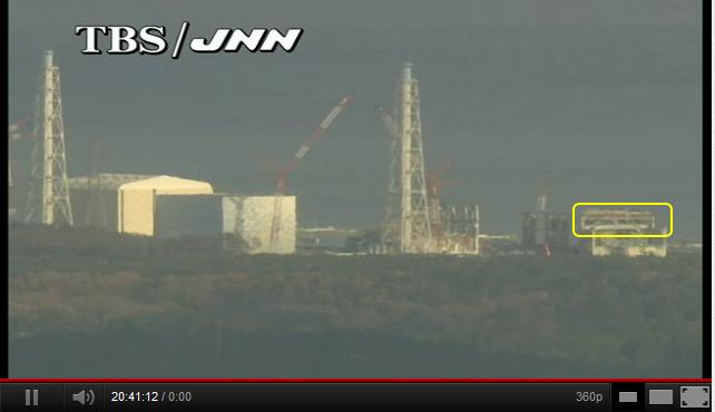 JNN福島第一原発情報カメラ(LIVE) - YouTube2011年12月10日午前11時14分