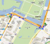 警視庁 から 丸の内警察署 - Google マップ