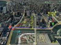 警視庁本部庁舎 から 丸の内警察署 - Google マップ4