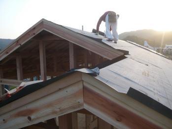 屋根防水張り