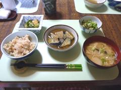 7月24日昼食