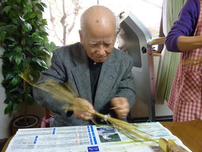 Oさん亀作り