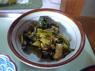 青菜の炒め煮