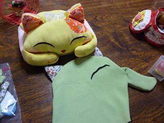 猫のテッシュカバー