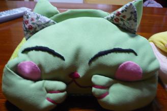 猫ティッシュカバー2