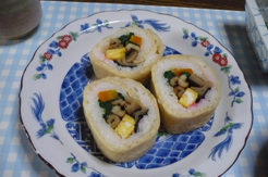 あげ巻き寿司9