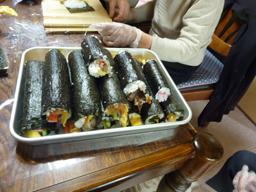 巻き寿司2日め9