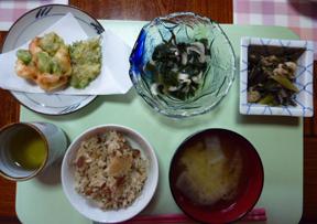 5月20日昼食