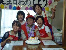 Mさん誕生日2