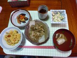 9月16日昼食