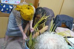 稲刈り991