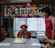 Mさん誕生日5