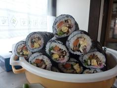 巻き寿司完成2