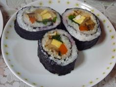 巻き寿司完成1