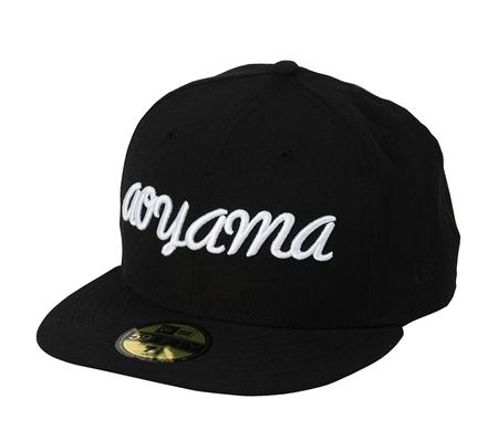 A2-AC01 NEW ERA aoyama CAP BLACK_R