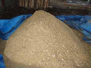 アミノ酸肥料仕込中