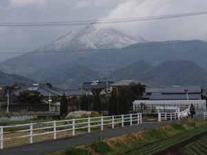 金峰山は雪ですよ