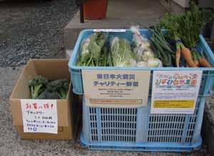 チャリティ野菜屋さん