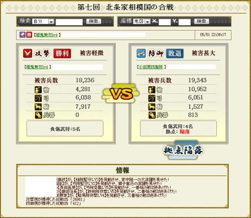 小田原陥落