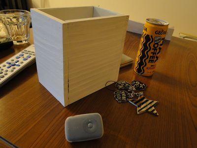 手作りの箱