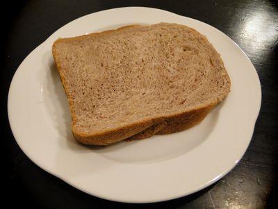 ゆであずきの食パン
