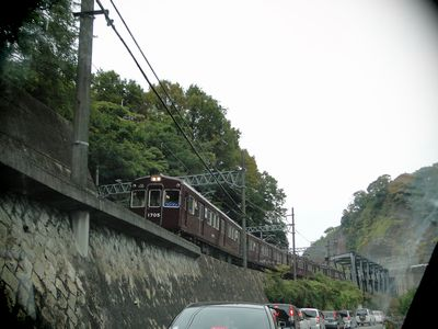 猪名川沿い173号手前