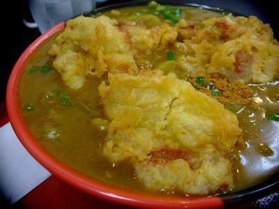 鶏天カレー