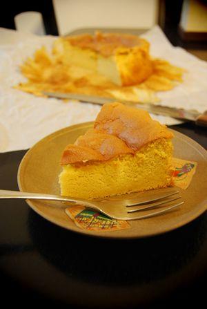 半熟卵のケーキ2