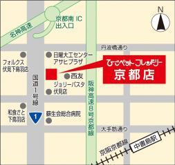 地図 京都