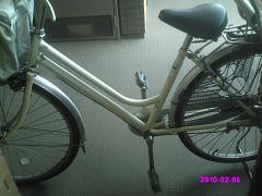 自転車手入れ