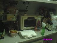 食器棚カウンター 整理前
