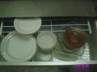 食器棚 左引き出し2段目 整理前